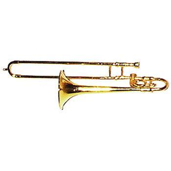 Musical Gifts Mini Trombone, Brass 6