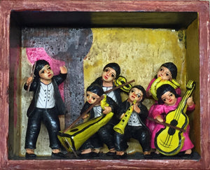 Peruvian Mini Chamber Music Box