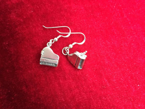 Musical Jewelry Piano Earrings