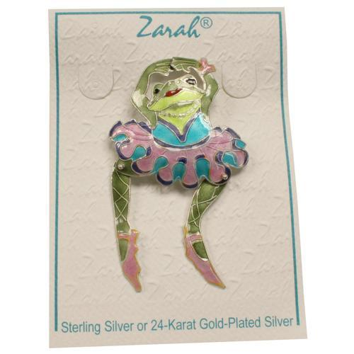 Musical Jewelry Twinkle Toad Pin