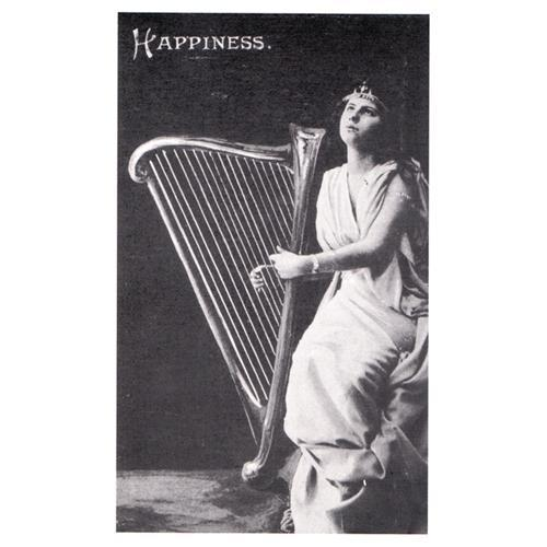 Musical Postcards Happiness (is a harp)