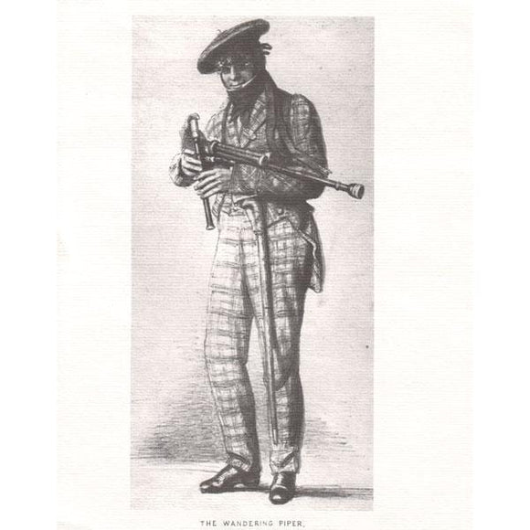Musical Prints Print : The Wandering Piper