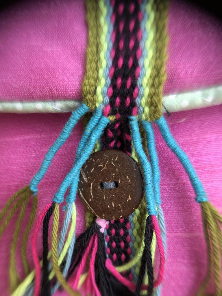 Native American Flutes Little Fish Silk Flute Bag Rich Pink