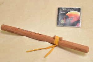 Native American Flutes Windpony Unfinished Cedar Flute in the Key of A