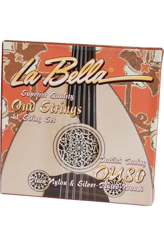 Ouds La Bella Oud 11-String Set, Turkish