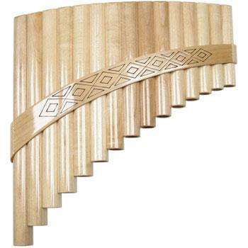 Panpipes 20 tube in G, better Panpipe