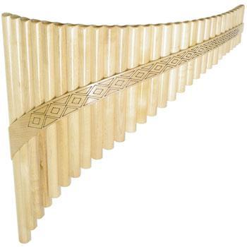 Panpipes Romanian Panpipe, 29 tubes with bag