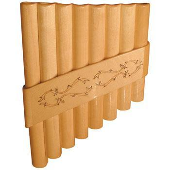 Panpipes Romanian Panpipe, 8 tubes with bag