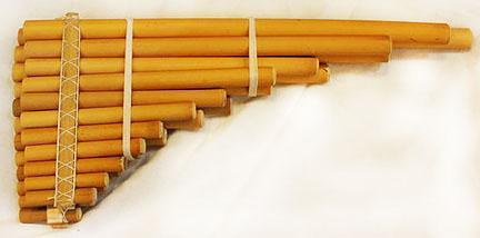 Panpipes X-large Siku, Basic