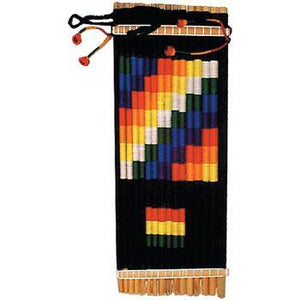 Panpipes Zampona - decorated with flags
