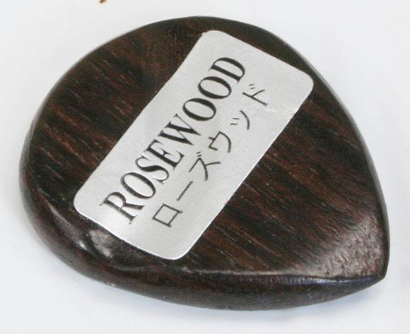 Picks Exotic Rosewood Plectrum