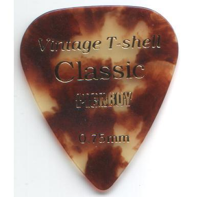 Picks Tortoise Shell 0.75mm Pick