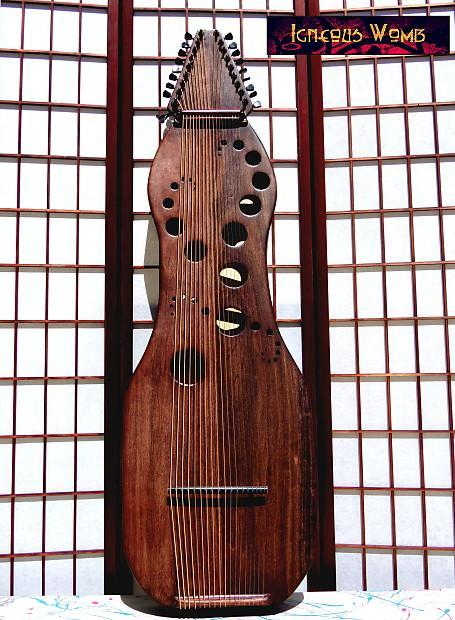 Plucked Strings - Others 18 string Vemana Harp, by Igneous Womb