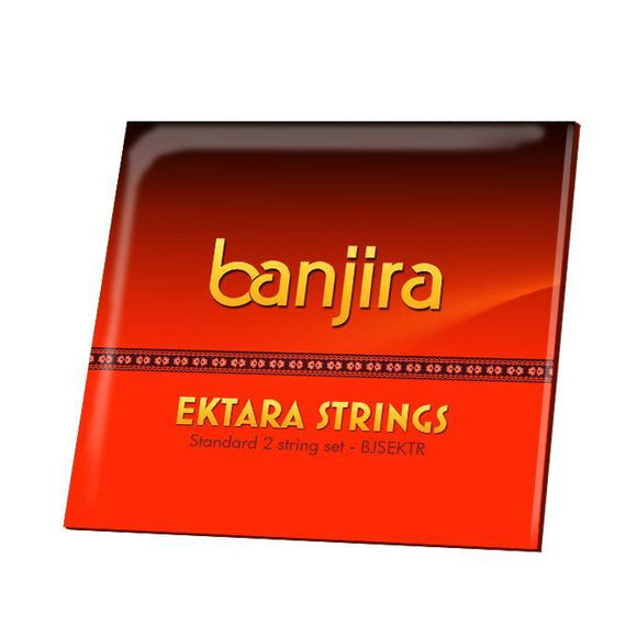 Plucked strings - others Banjira Ektara String Set