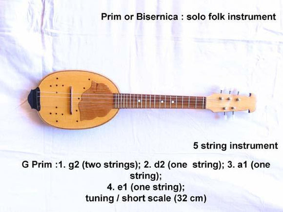 Plucked Strings - Others Tamburitza Prim 5 String