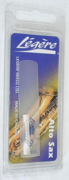 Reeds Legere Alto Sax Reed, 2.5