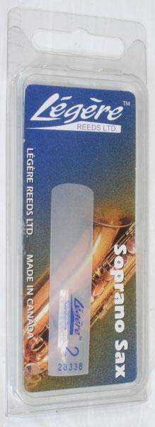 Reeds Legere Soprano Sax Reed, 2.0