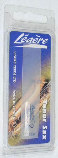 Reeds Legere Tenor Sax Reed, 2.0