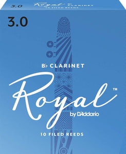 Reeds Royal by D'Addario Bb Clarinet Reeds 10-Pack