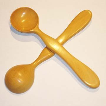 Spoons Beautiful Musical Spoons Boxwood Pair 8 Inch