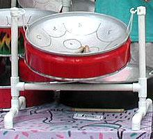 Steel Drums 16 C Mini Steel Drum in C