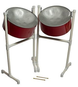 Steel Drums FancyPans 30 Gallon Double Lead Steel Drum W/ STAND