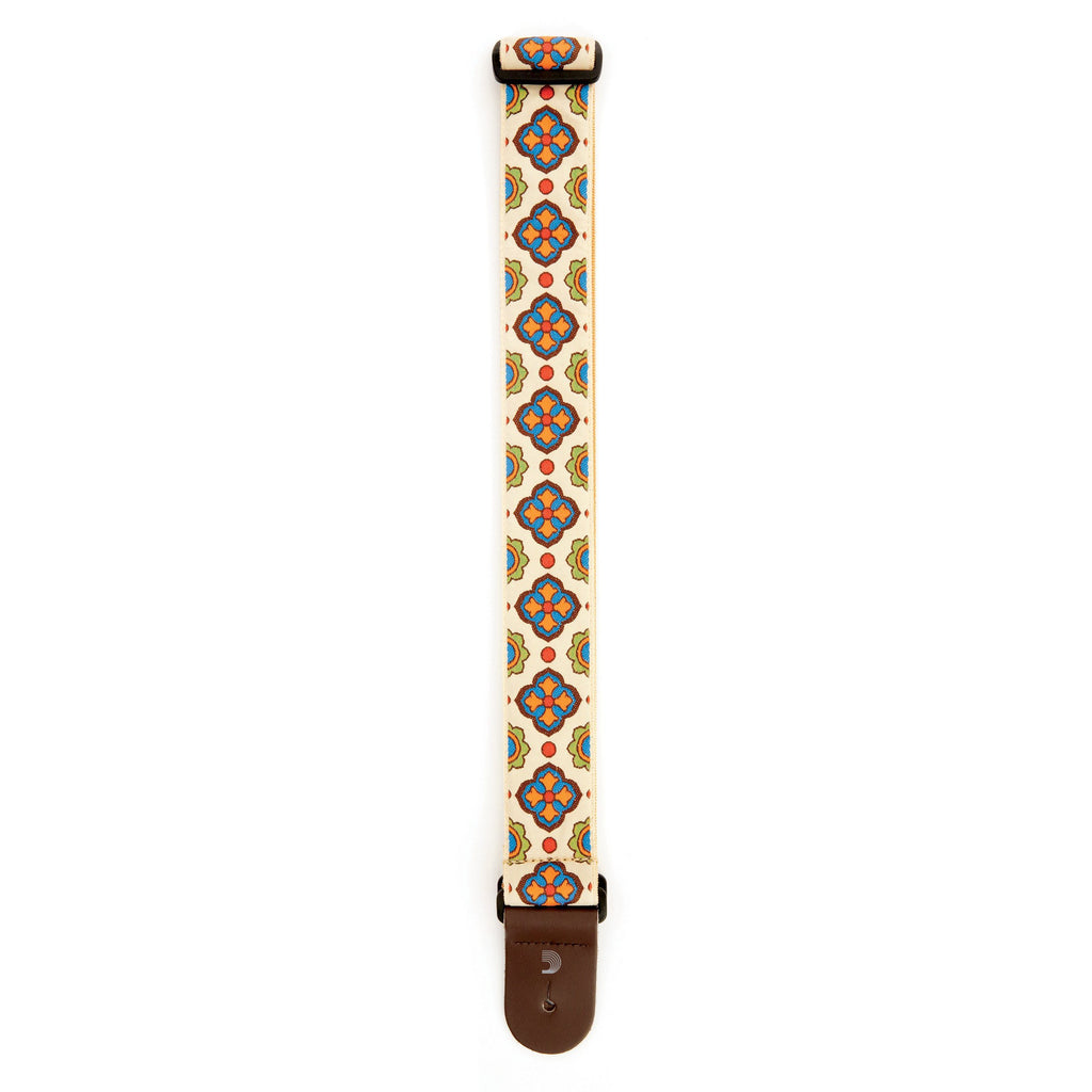 Stringed Instrument Accesories D'Addario Planet Waves Latin Tile Art Guitar Strap, Traditional