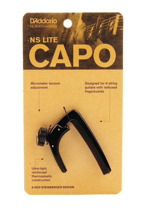 Stringed Instrument Accesories D'Addario Planet Waves NS Capo Lite
