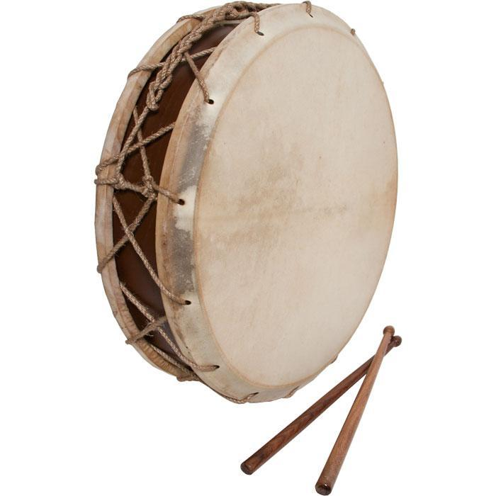 """EMS Tabor Drum, 14"""", With Sticks"""