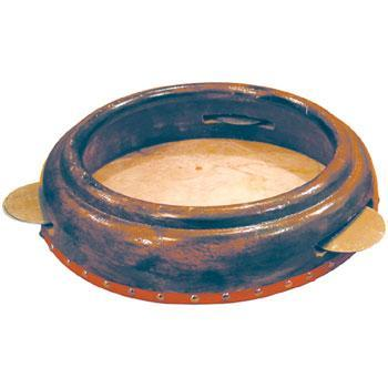 "Tambourines Extra Large Hand Drum Tambourine, 14"" W x 3"" T With Jingles"