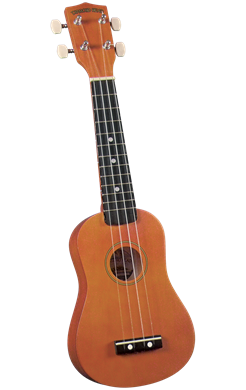 Ukuleles Diamond Head Student Soprano Ukulele in Brown