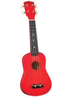 Ukuleles Diamond Head Student Soprano Ukulele in Red