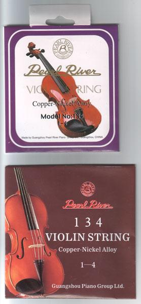 Violins Sets Violin Strings #134 1-4 250 Sheaths