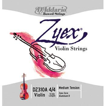Violins Zyex Violin String Set, Medium 4/4