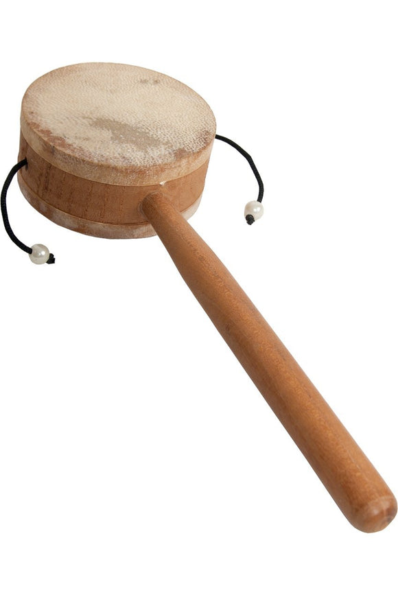Whirling Drums Monkey Drum with Handle, 3.25