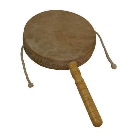 Whirling Drums Monkey Drum with Handle, 8""