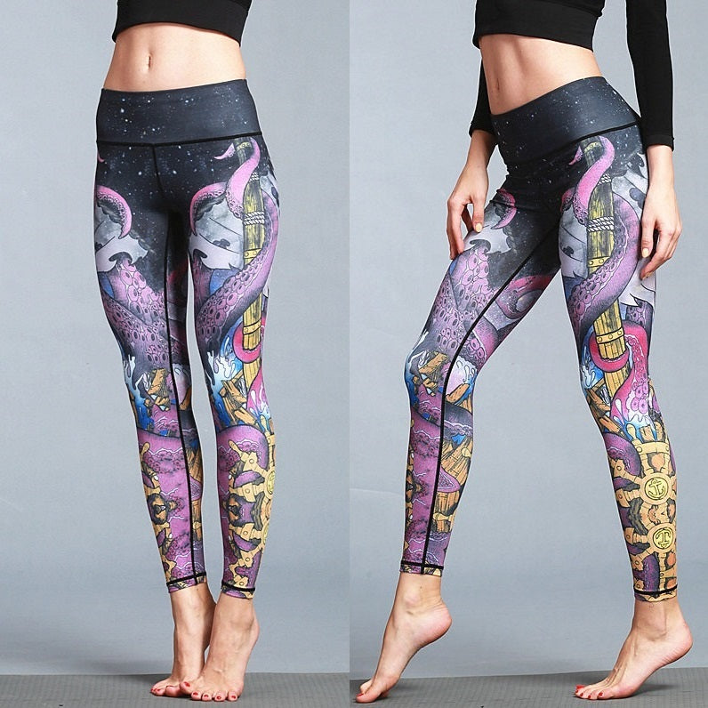 Leggings: Octopus