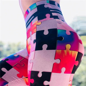 Puzzle Leggings