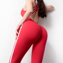 Load image into Gallery viewer, Yoga Jumpsuit: Cherry
