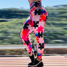Load image into Gallery viewer, Puzzle Leggings