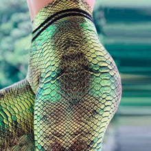 Load image into Gallery viewer, Leggings: Reptile