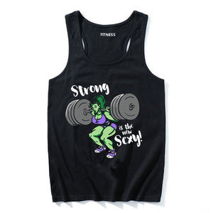 Tank Top: Strong Is Sexy
