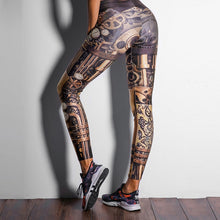 Load image into Gallery viewer, Leggings: Steampunk