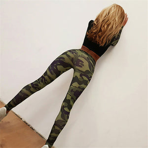 Yoga Suit: Camouflage