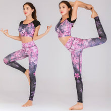 Load image into Gallery viewer, Yoga Suit: Sakura