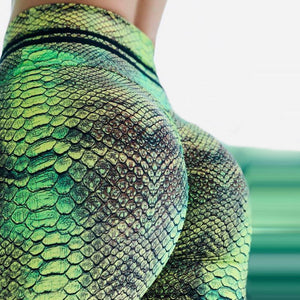 Leggings: Reptile