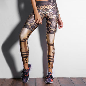 Leggings: Steampunk