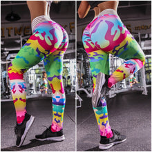 Load image into Gallery viewer, Leggings: Rainbow