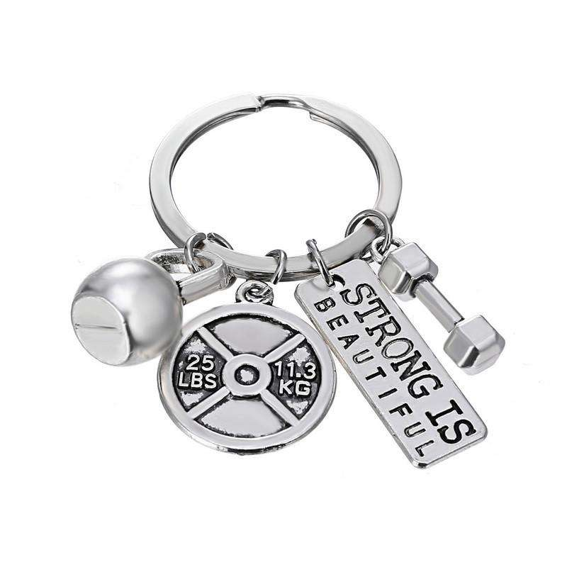 Keychain: Strong is Beautiful