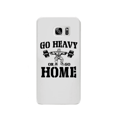 Phone Case: Go Heavy or Go Home 2